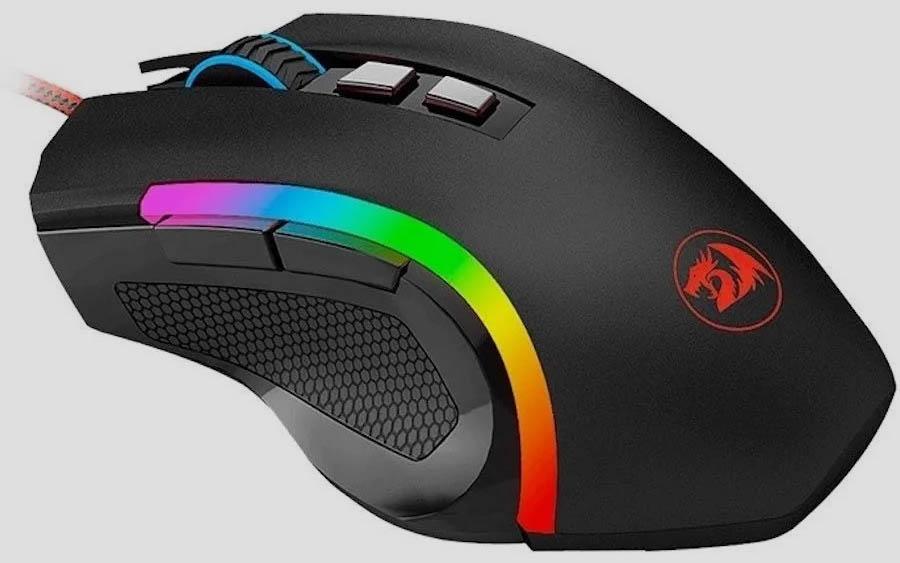 Mouse Gamer Redragon Griffin Chroma M607 7200dpi Nf Garantia