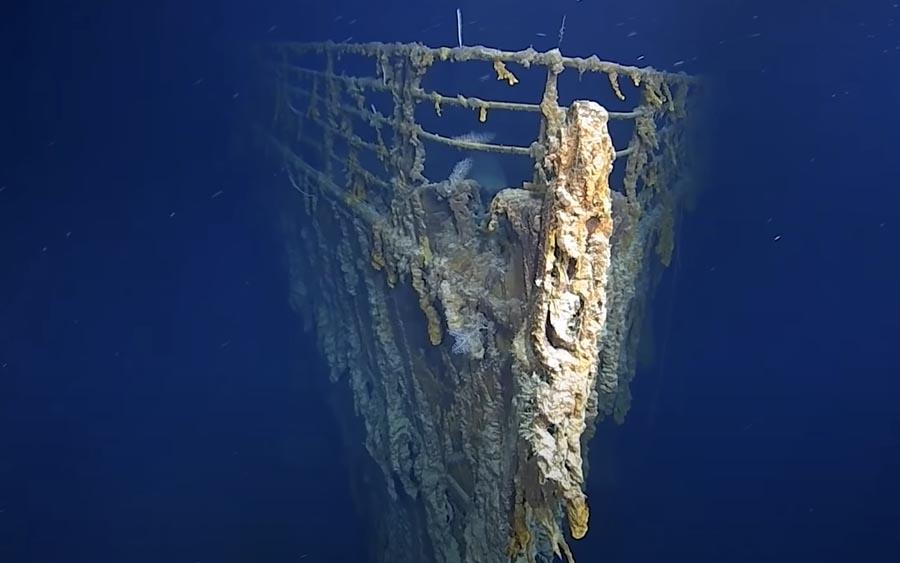 Confira o Titanic em 4k