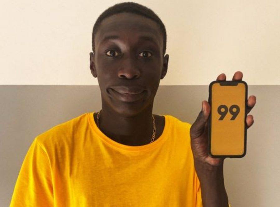 Khaby Lame, revelação do TikTok, faz sucesso no Brasil pela 99