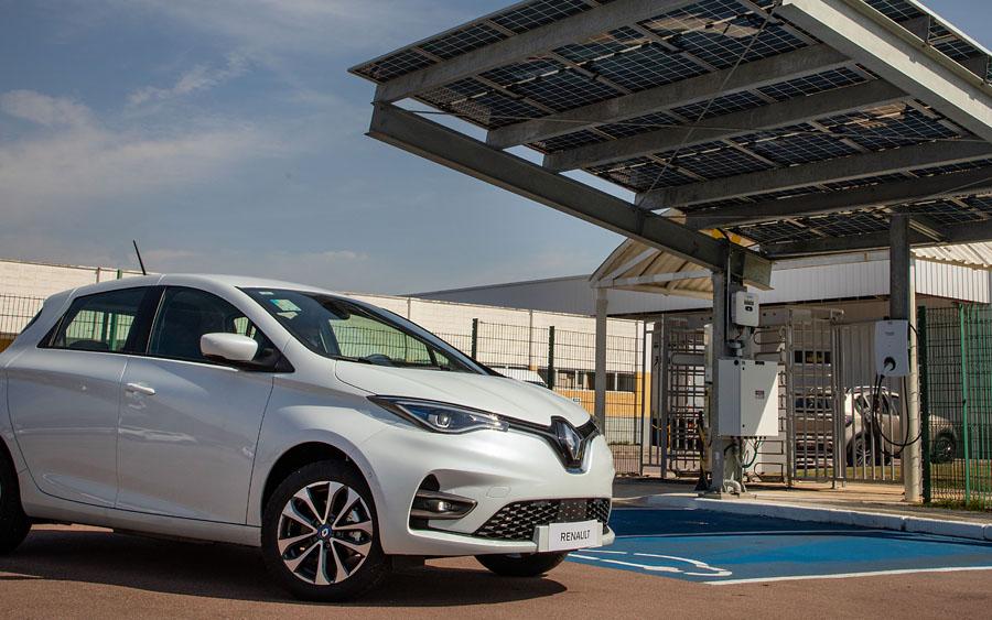 Como funciona a Garagem Fotovoltaica da Renault