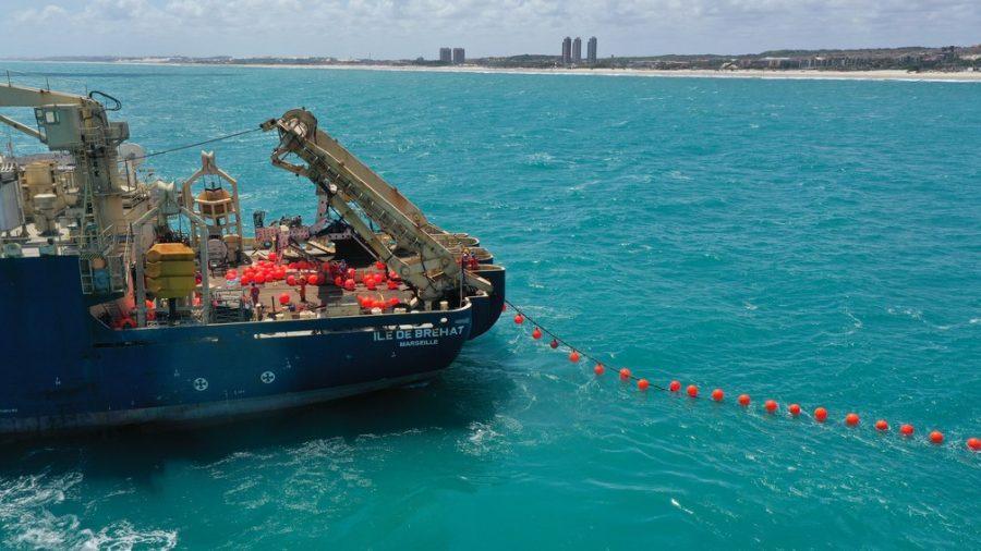 Cabo submarino entre Brasil e Portugal deve mudar sua internet