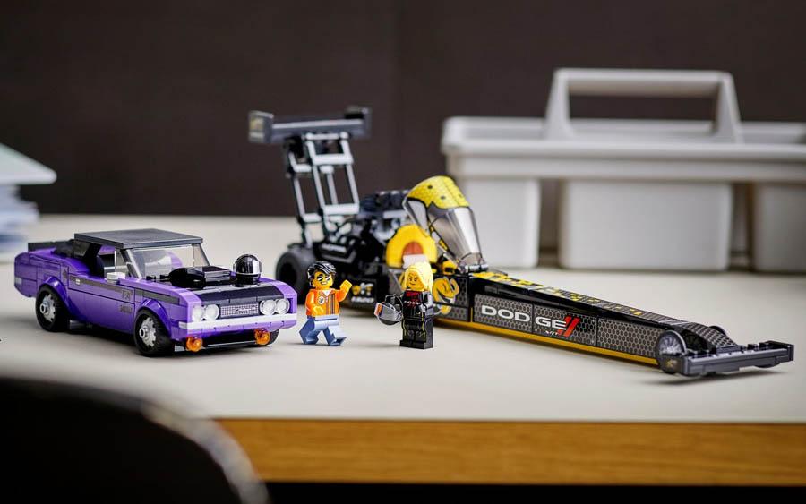 O kit Speed Champions da Dodge e Lego