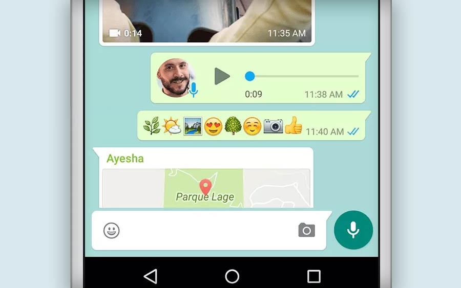 Onde ficam armazenados os áudios do Whatsapp