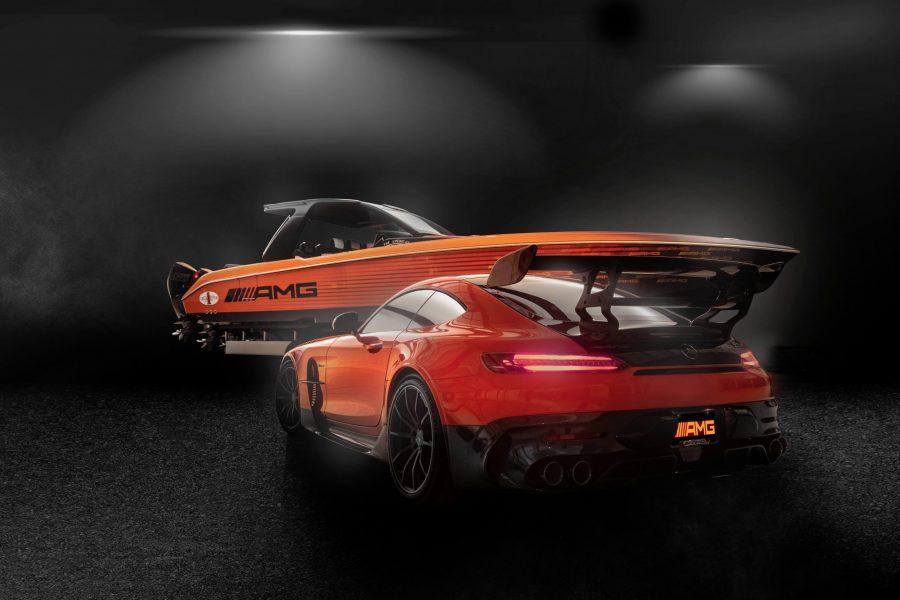 Novo barco de alto desempenho é inspirado no Mercedes-AMG GT Black Series