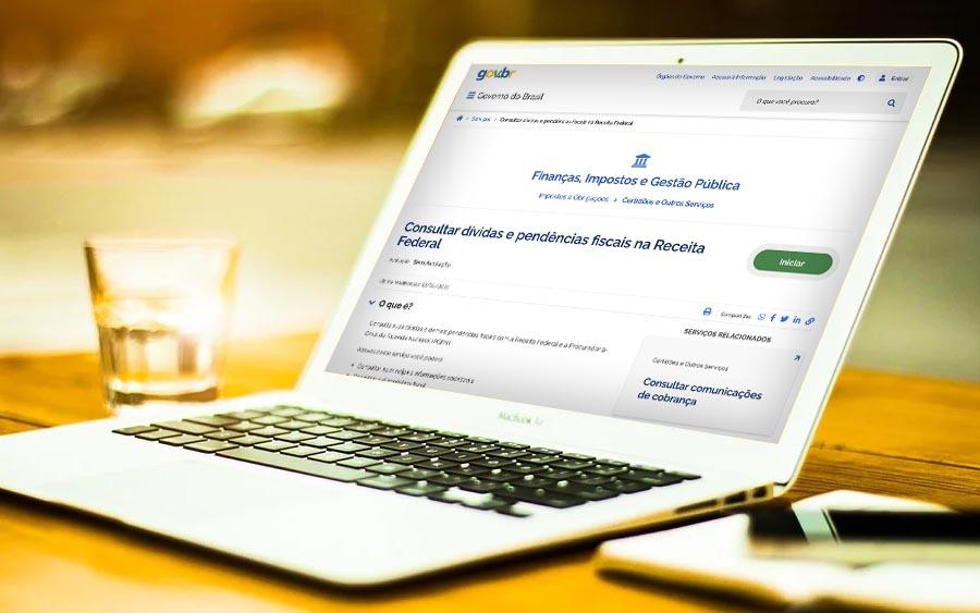 Na sua conta Gov.br você pode checar as dívidas no seu CPF