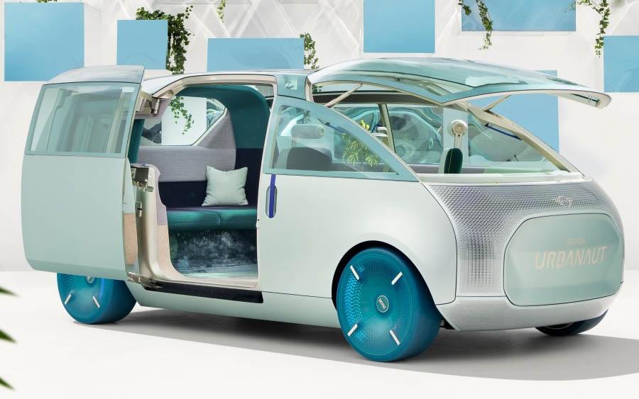 MINI Vision Urbanaut é uma ideia para o futuro da mobilidade