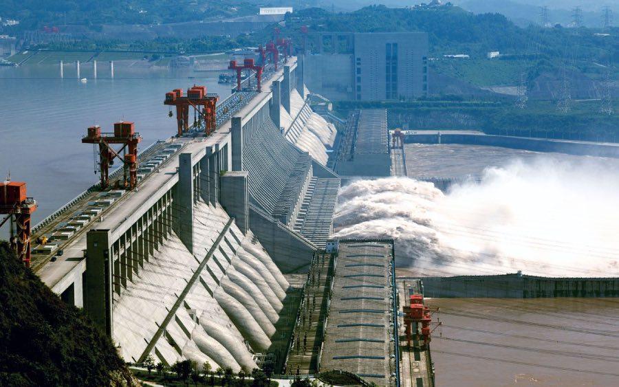 A maior usina elétrica do mundo fica na China