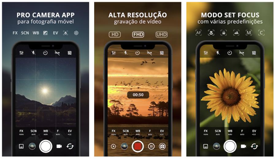 Aplicativos para a câmera do seu Android