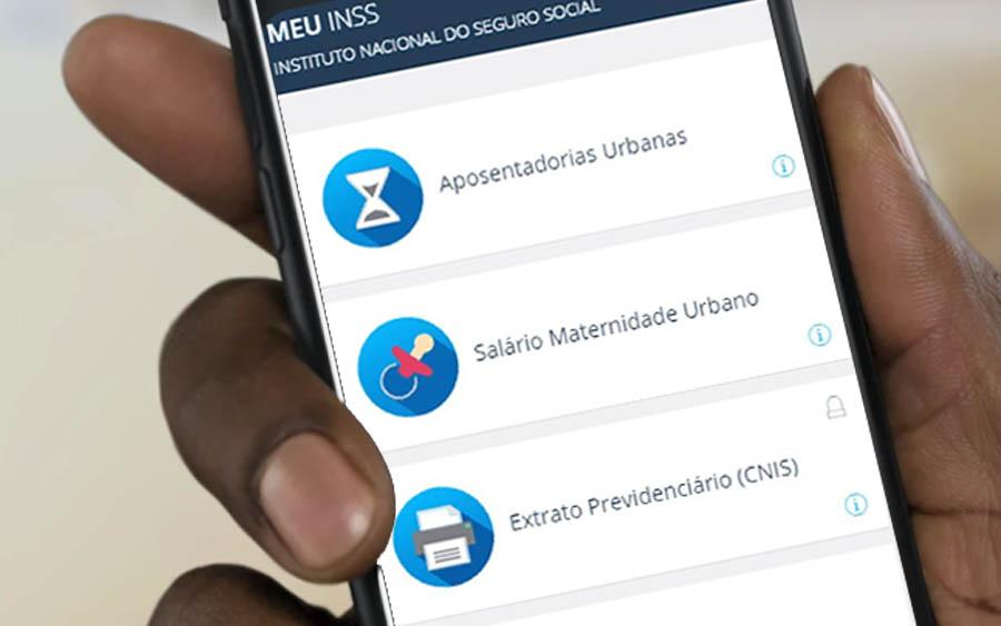 Obter extrato de pagamento de benefício do INSS pelo app