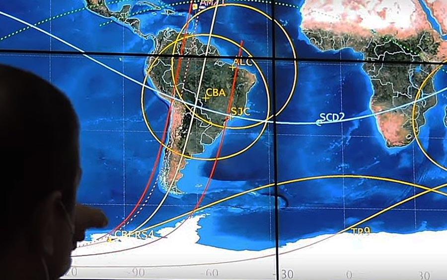 Você pode ver as fotos do primeiro satélite totalmente brasileiro a hora que quiser