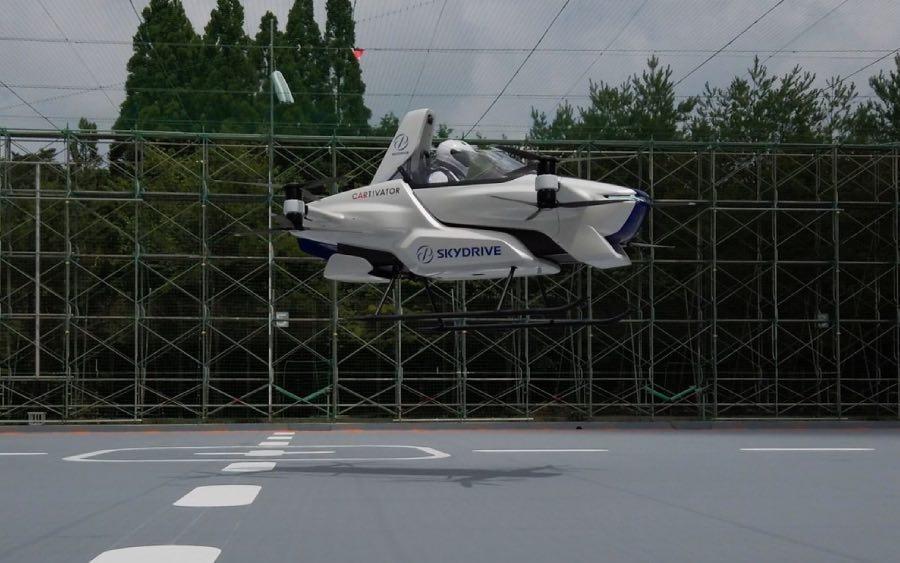 Carro voador da Toyota deve chegar em 2023