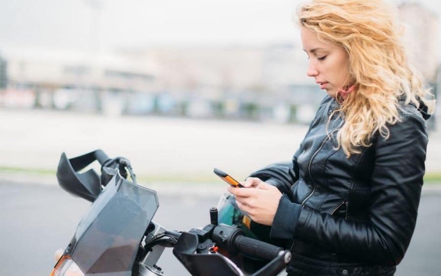 Vibrações de uma moto podem danificar o seu iPhone
