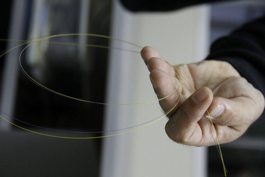 Como funciona a fibra ótica