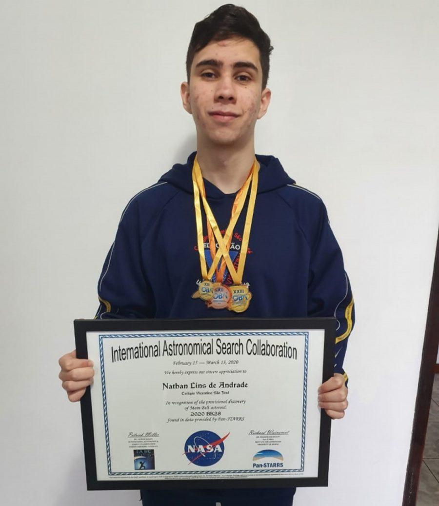 Nathan Lins de Andrade, de 17 anos