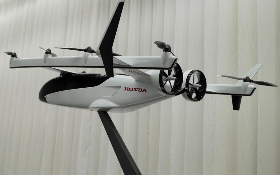 O ecossistema de mobilidade da Honda será com táxis voadores